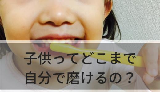 【4歳〜6歳編】子供ってどこまで自分で歯磨きできるの?を年齢別にまとめてみた!